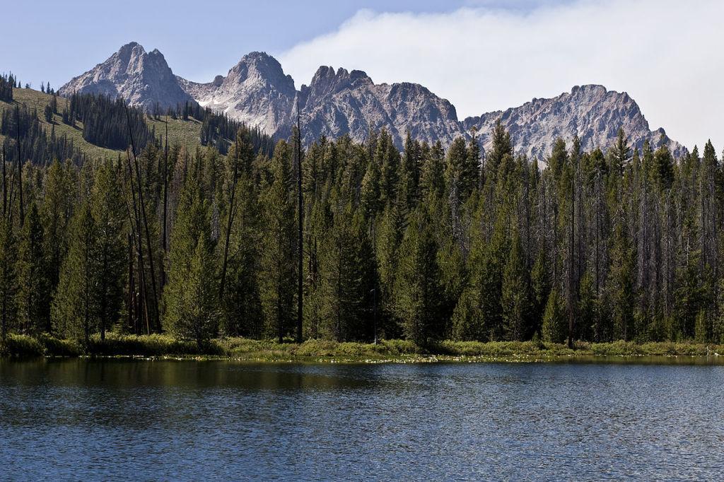 Sawtooth Mountains, photo by Magnus Manske