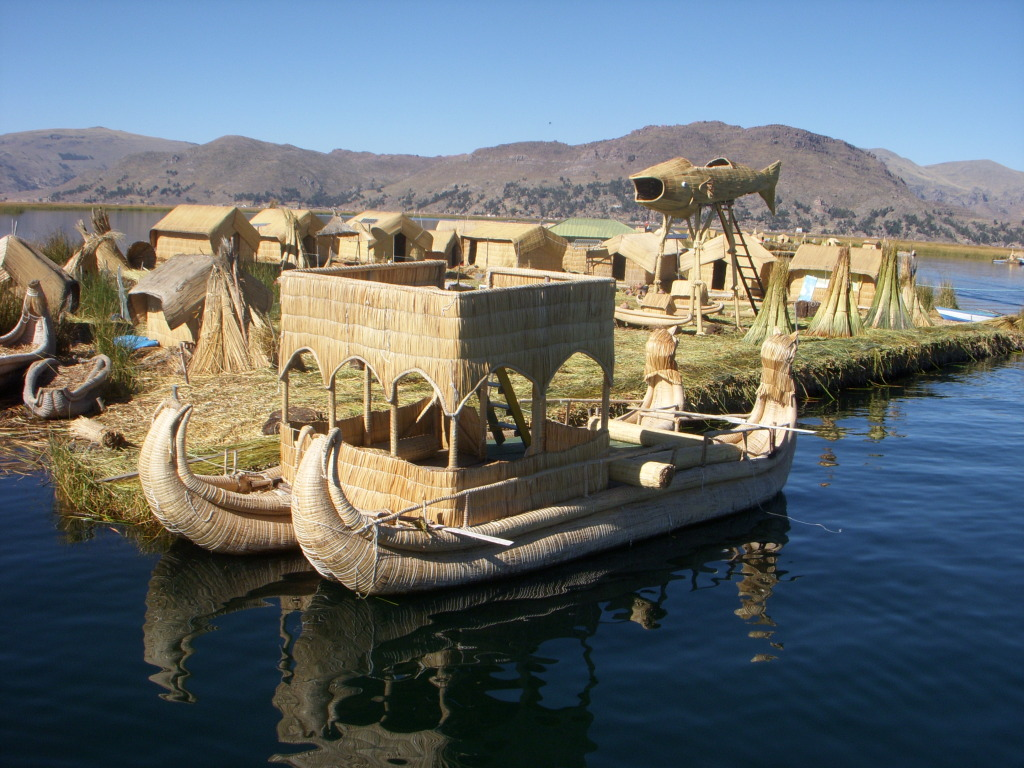 Lake Titicaca (Peru), photo by Jpduchesneau
