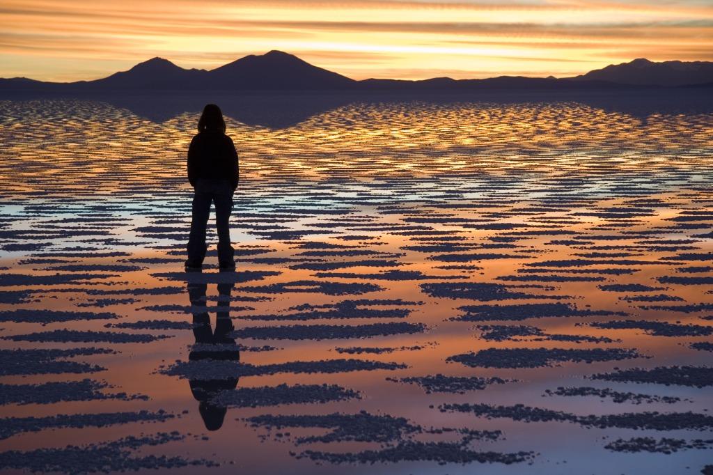 Salar de Uyuni, photo by Luca Galuzzi