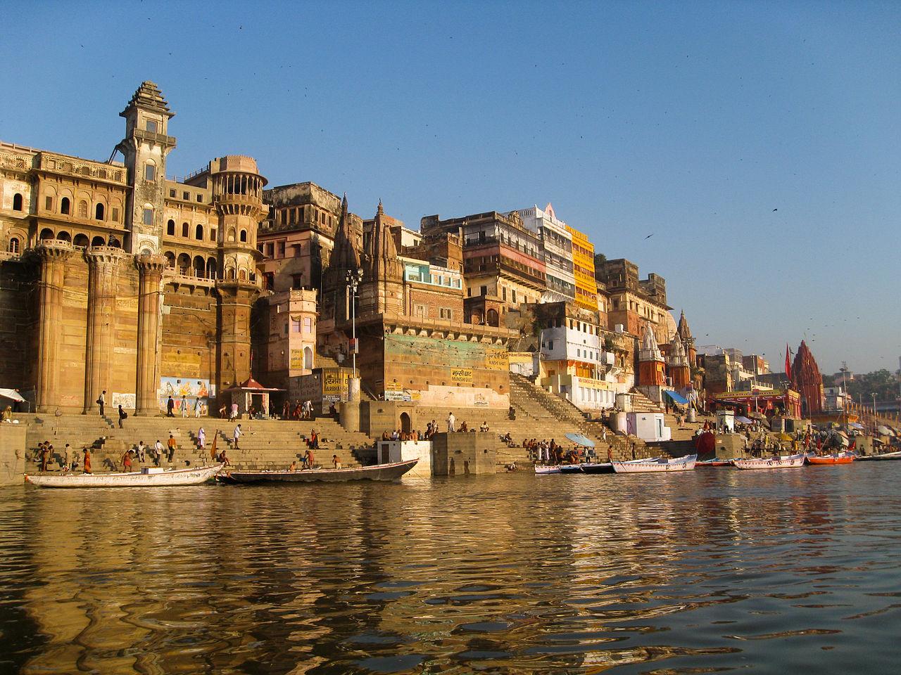 Varanasi, photo by Patrick Barry