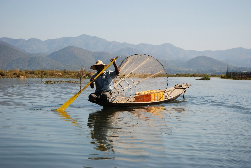 Inle Lake, photo by Thomas Schoch