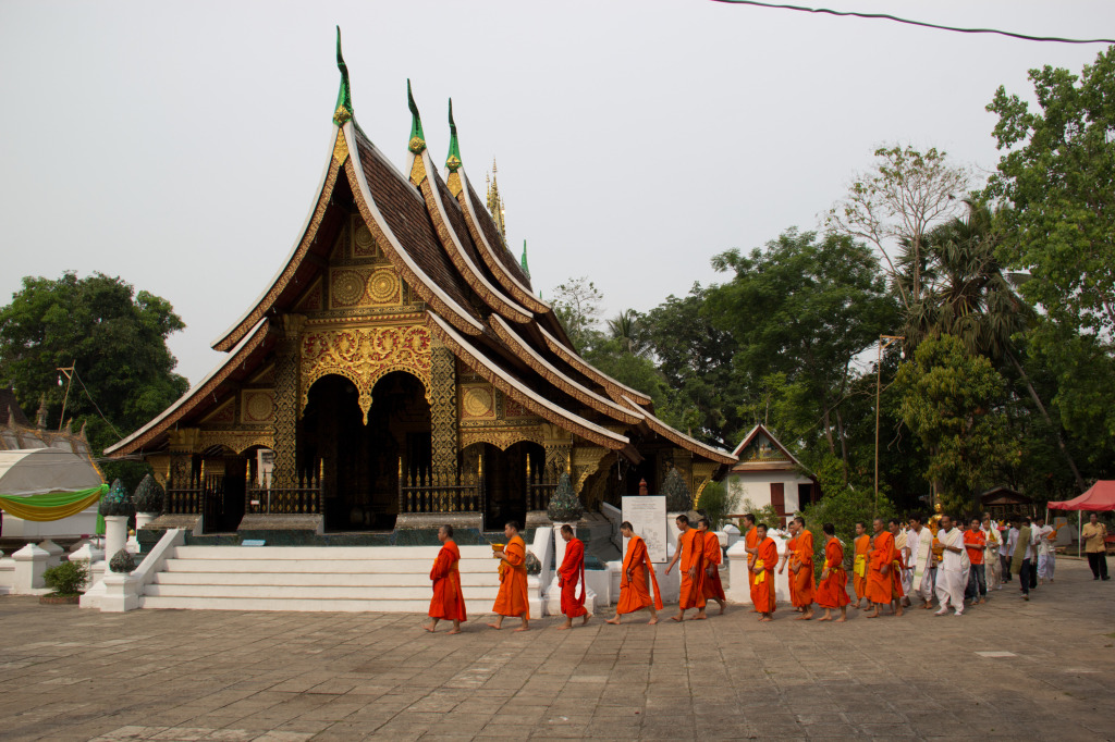 Luang Prabang, photo by Nick Hubbard
