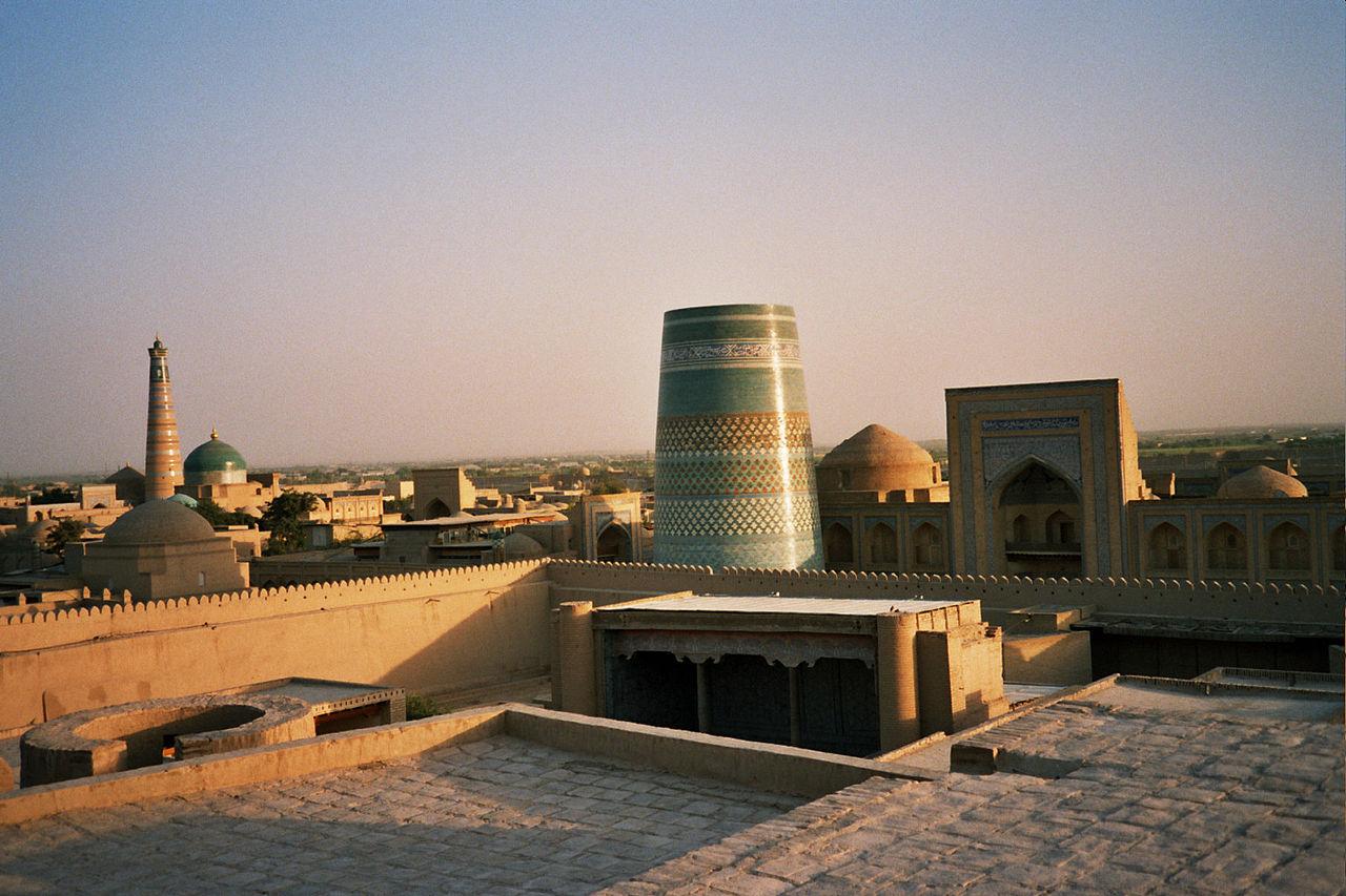 Khiva, photo by Wikimedia Commons