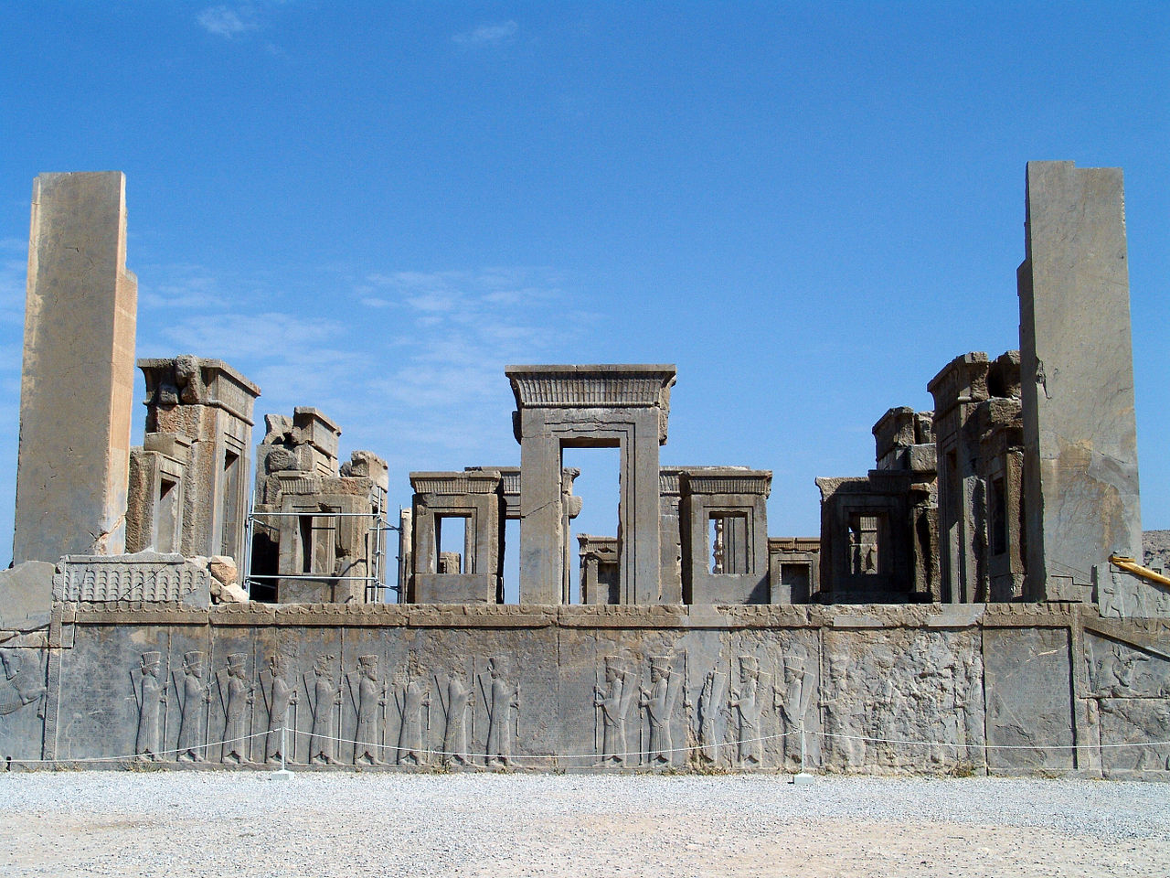 Persepolis, photo by Wikimedia Commons