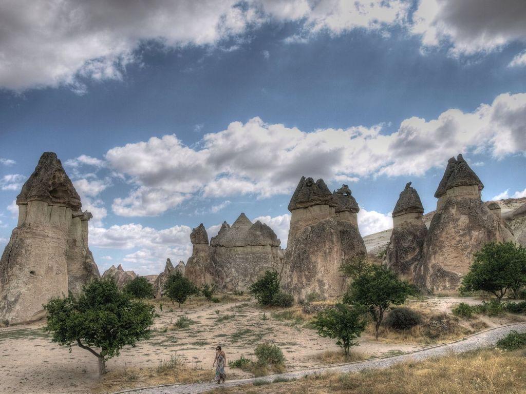Cappadocia, photo by Wikimedia Commons