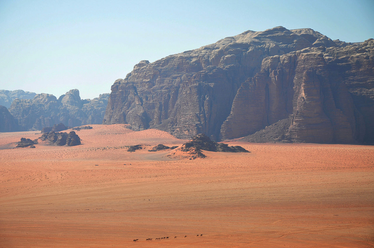 Wadi Rum, photo by Jorge Lascar
