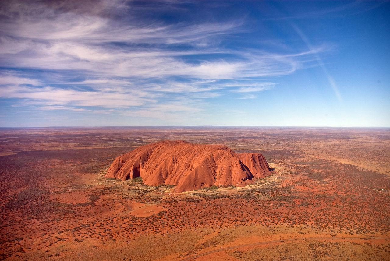 Uluru (Ayers Rock), photo by Corey Leopold