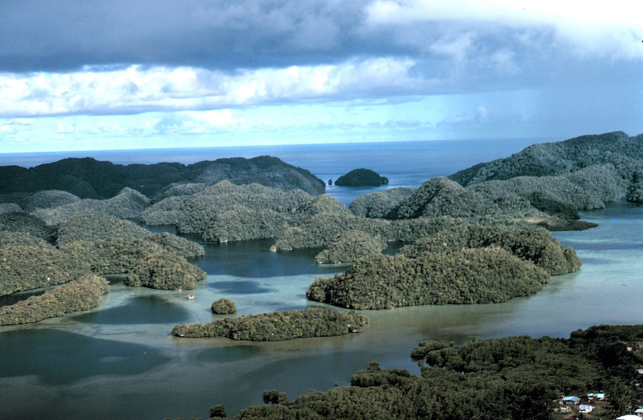 Rock Islands, photo by Dr. Hames P. McVey, NOAA Sea Grant Program