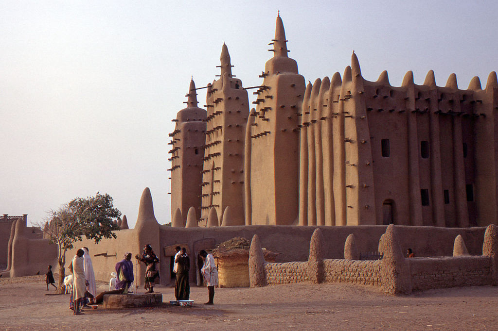 Djenne, photo by Gilles MAIRET