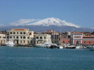 Mount Etna Region Southeastern Sicily