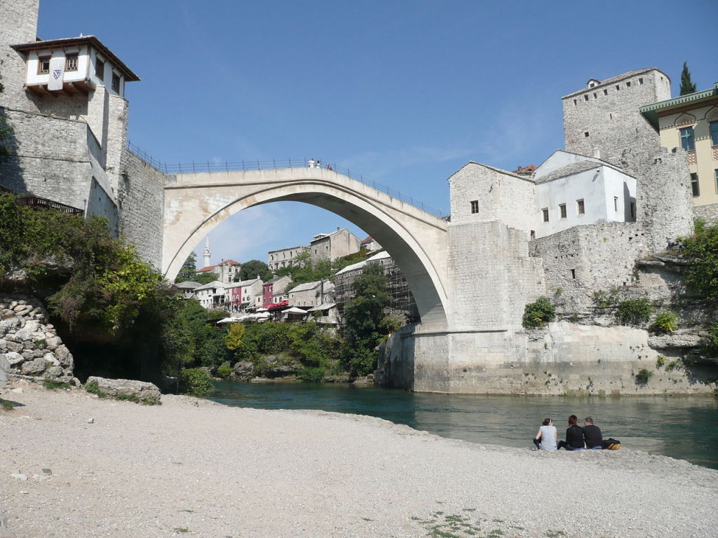 Mostar, photo by Halfmonkey