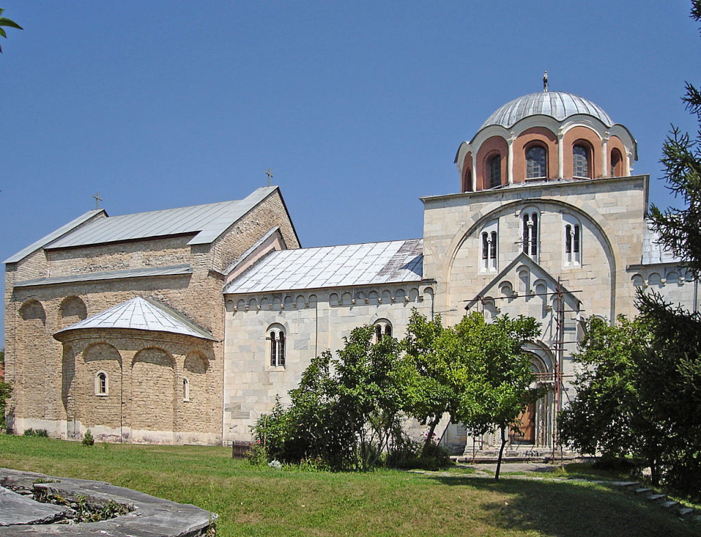 Studenica, photo by Wikimedia Commons
