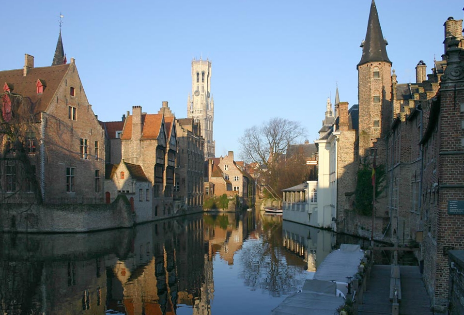 Bruges (Brugge), photo by Jan Arkesteijn