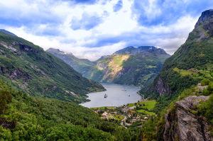 Fjord Region Geirangerfjord